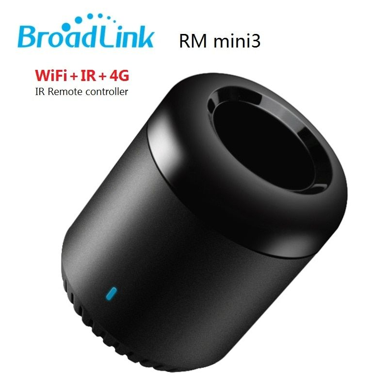 Original Broadlink RM Mini3 Black bean Smart Home Automation Universal Intelligent WiFi/IR/4G Wireless Controller by SmartPhone