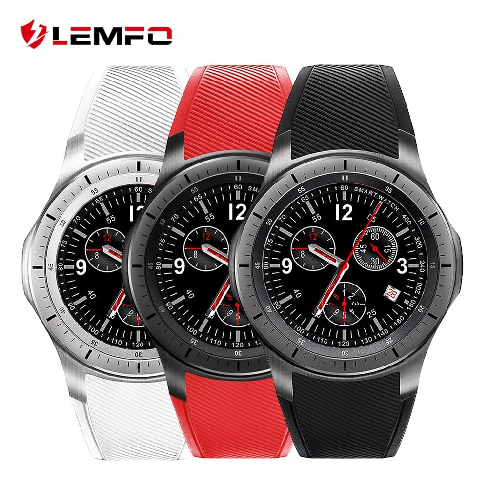 LEMFO LF16 Bluetooth Smart Watch Phone WIFI GPS 3G <font><b>WCDMA</b></font> Android Smartwatch Wristwatch Wearable Devices