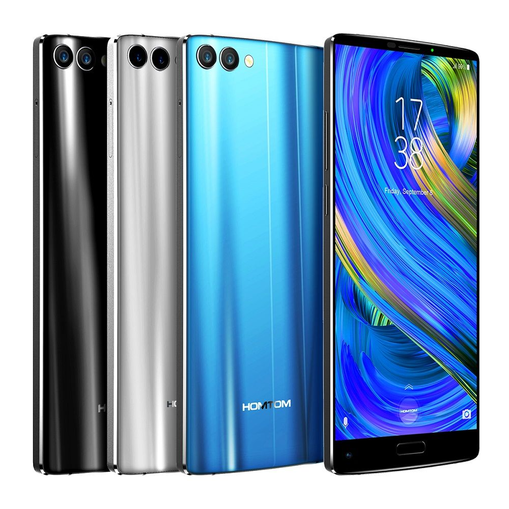HOMTOM S9 Plus 5.99'' Tri-bezelless Full Screen 4G Smartphone Octa Core 4GB+64GB Android Mobile Phone OTG Fingerprint 4050mAh