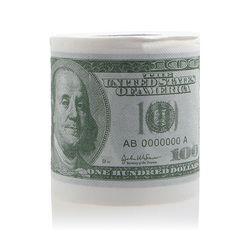 1 unid divertido cien dólares Bill higiénico rollo de papel $100 regalo nuevo