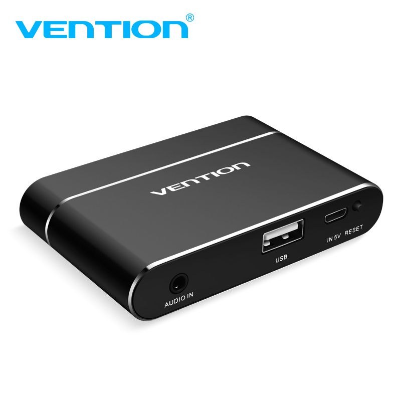 Vention USB to HDMI VGA Audio Video Converter 3 in 1 USB Digital AV Adapter For iphone 8 Andriod USB Audio Adapter For Samsung