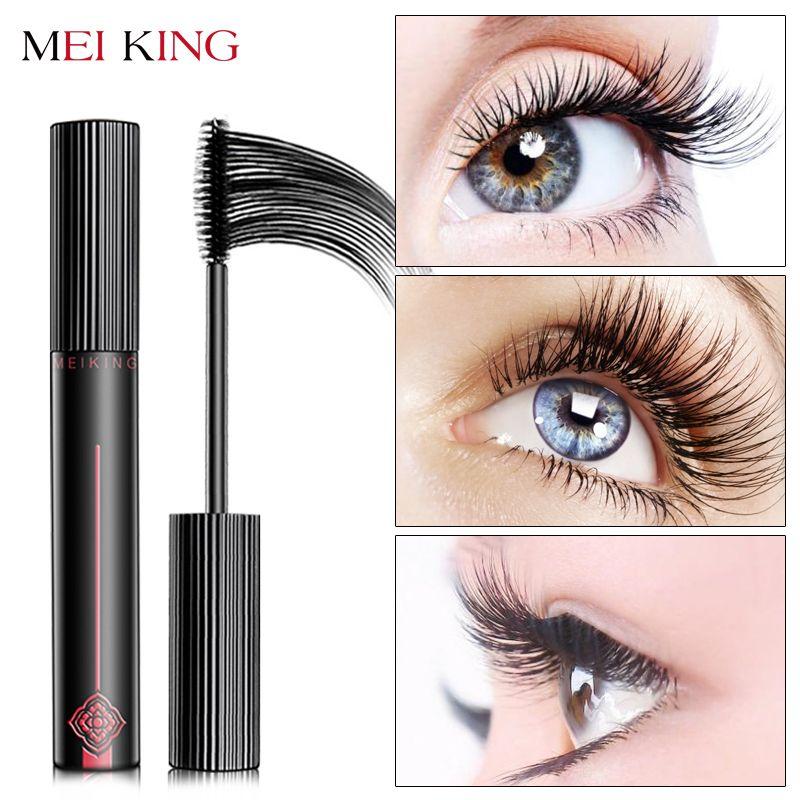 MEIKING Mascara Makeup Waterproof Lengthening Cosmetics Mascaras Ladies Women False Eye Lashes <font><b>Make</b></font> Up Mascara maquiagem