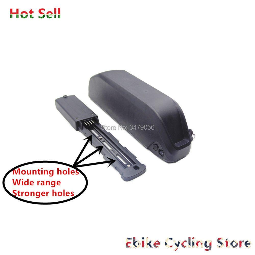 Kostenloser Versand fett bike cruiser bike MTB super shark Ebike batterie 36 v 48 v 52 v Li-Ion pack für 500 w 750 w 1000 w 1200 w motor