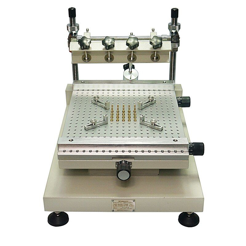 Chip Repair ZB3040H Solder Paste Printer Manual Silkscreen Printer Red Glue Printing Machine.