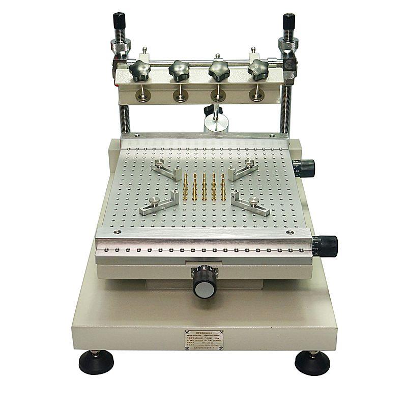 Chip Reparatur ZB3040H Lotpaste Drucker Manuelle Siebdruck Drucker Rot Kleber Druck Maschine.