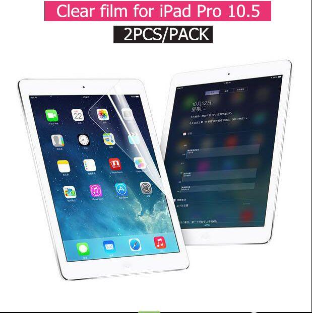 2 Teile/paket gute qualität vordere HD löschen film für apple ipad pro 10,5 schirm-schutz-cover starken kartonpaket
