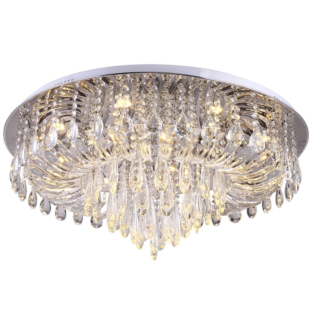 luxury design crystal ceiling light modern lighting AC110V 220V lustre plafonnier led bedroom living room lamp