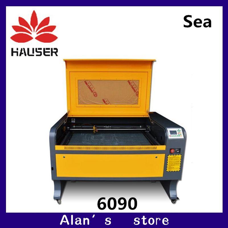 Russland Freies Verschiffen HCZ DSP 100 W Laser gravur maschine 6090 Laser cutter maschine CO2 laser CNC schneiden Maschine USB interface