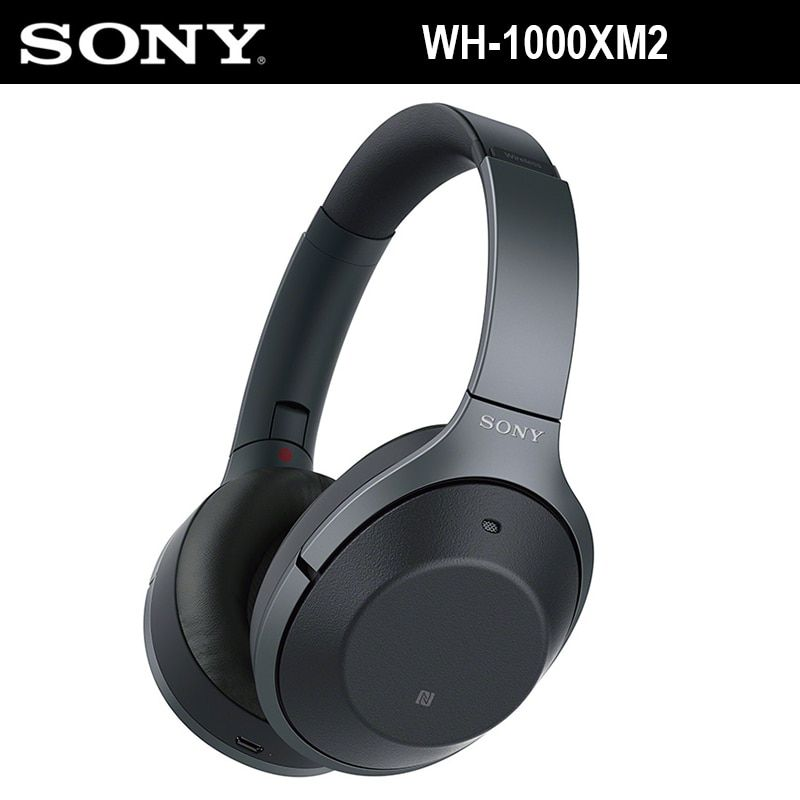 SONY WH-1000XM2 Noise Cancelling Wireless Bluetooth Kopfhörer Hochwertige Audio Hände-freies Rufen Falten Headset Tragbare Fall NFC