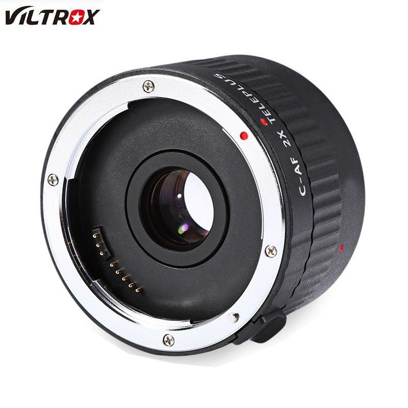 Viltrox C-AF 2X Magnification Teleplus Teleconverter autofocus Mount Lens For Canon EOS EL Lens