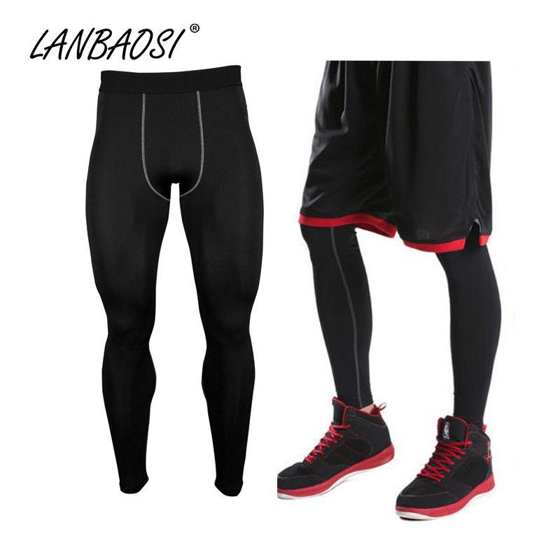 Gute Qualität Männer Compression Strumpfhosen Hosen Unterwäsche Basis Schicht Trocknen Schnell Breathable Leggings Hose Hose