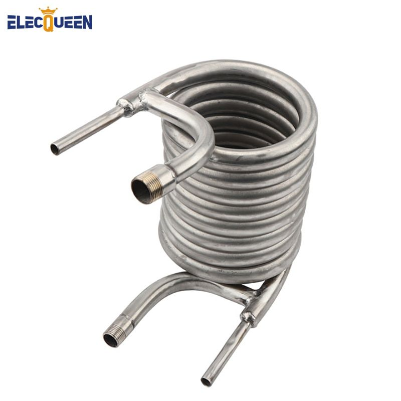 304 Stainless Steel Counterflow Wort Chiller, Brewing Equipment, Garden Hose Fittings 2018 Top Quality Coil Tube Chillers