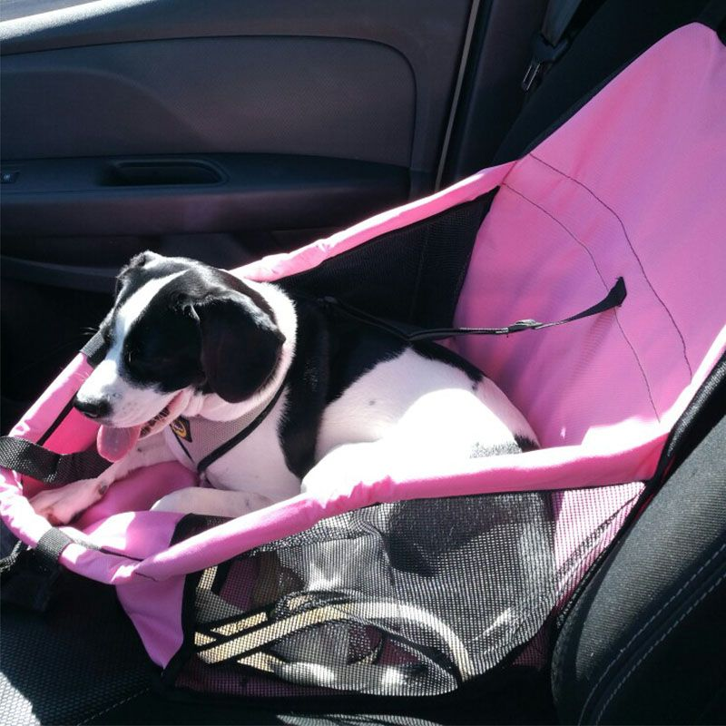 Dog Basket Folding Puppy Dog Bed Hammock Waterproof Pet Mat Car <font><b>Seat</b></font> Cover Dog Carrier with Traction Buckle cama para cachorro