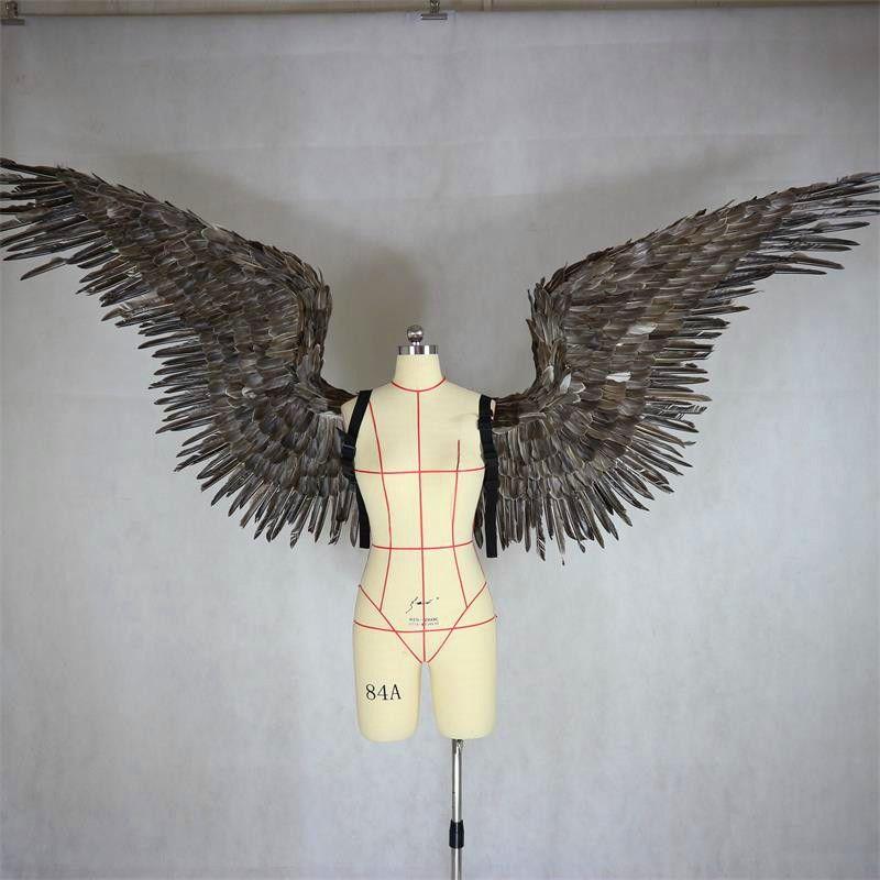 Victoria's secret engel feder flügel große erwachsene modell runway zeigen runway zeigen unterwäsche für die teufel flügel requisiten