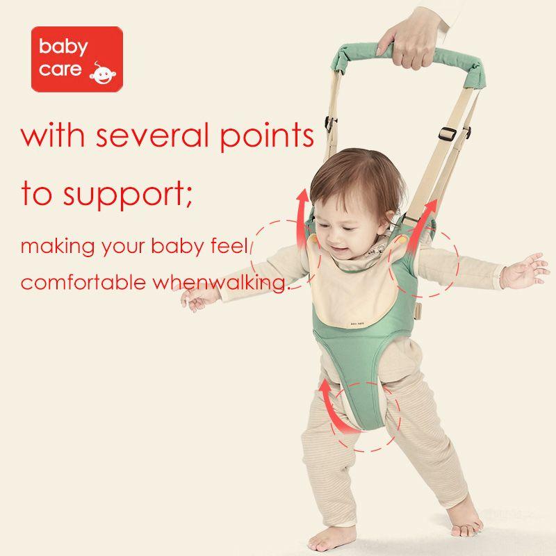 Aide à la marche et à la marche pour bébé Babycare aide à l'apprentissage pour bébé avec sécurité fonctionnelle marche
