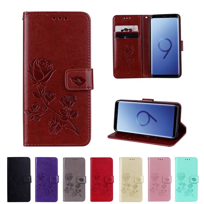 Flip Case For Samsung Galaxy A5 A3 J1 J3 J5 J7 2016 2017 Leather Wallet Cover for Sumsung S9 S8 Plus S6 S7 Edge S5 S4 S3 Coque