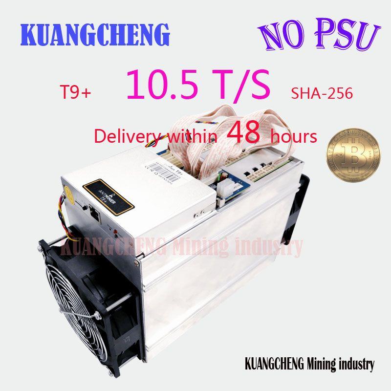 sha256 AntMiner T9+ 10.5T Bitcoin Miner (no power supply) Asic Miner Newest 16nm Btc BCH Miner Bitcoin Mining Machine