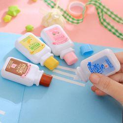 1 x material escolar kawaii papelaria leche Cintas 6 m leche Cinta correctora papelería oficina suministros de la escuela
