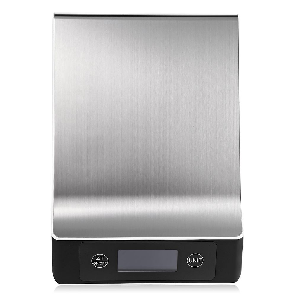 Stainless Steel 15KG/1G Portable Balance Digital Kitchen <font><b>Scale</b></font> With LCD Electronic Postal Platform Baking Diet Food Weight