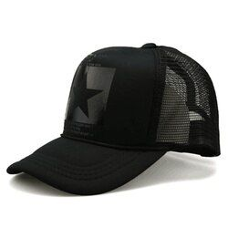 Мода звезда Марка Бейсбол Кепки открытый Бейсбол шляпа дышащие мужские и женские летние сетчатые Кепки Бейсбол-Шапки Gorras