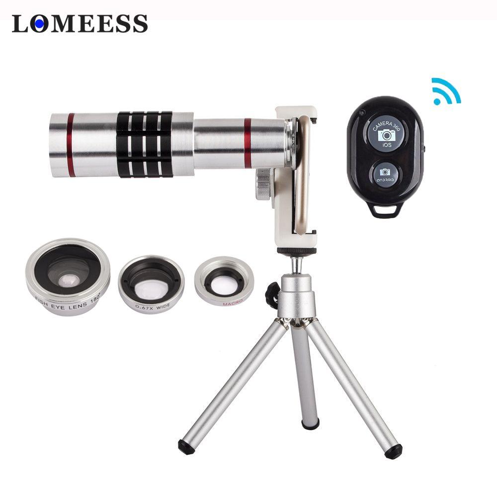 18X Zoom Mobile Phone Lens Optical Telescope Camera Lens With Mini Tripod Universal Lens for iPhone 8 X Huawei Xiaomi Samsung