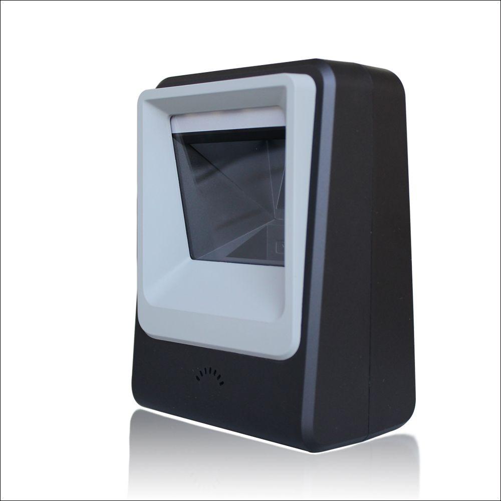 freeshipping Omni Directional Scanner 2D Scanner Ticketing QR Code Scanner USB Barcode Reader Desktop 2d scanning platform
