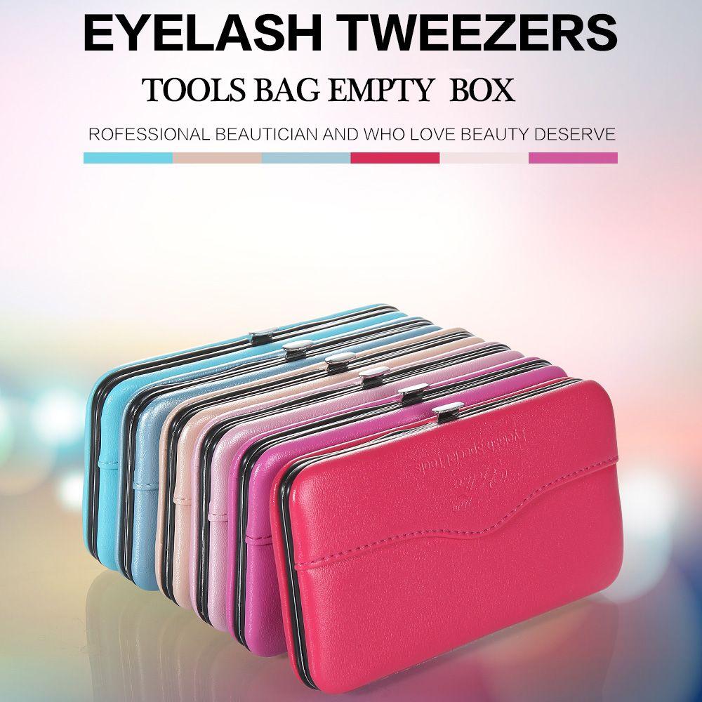 Nouveau Professionnel Maquillage Outils Sac pour Extension de Cils Pincettes Outil Boîte De Rangement Beauté Cils brucelles Cas