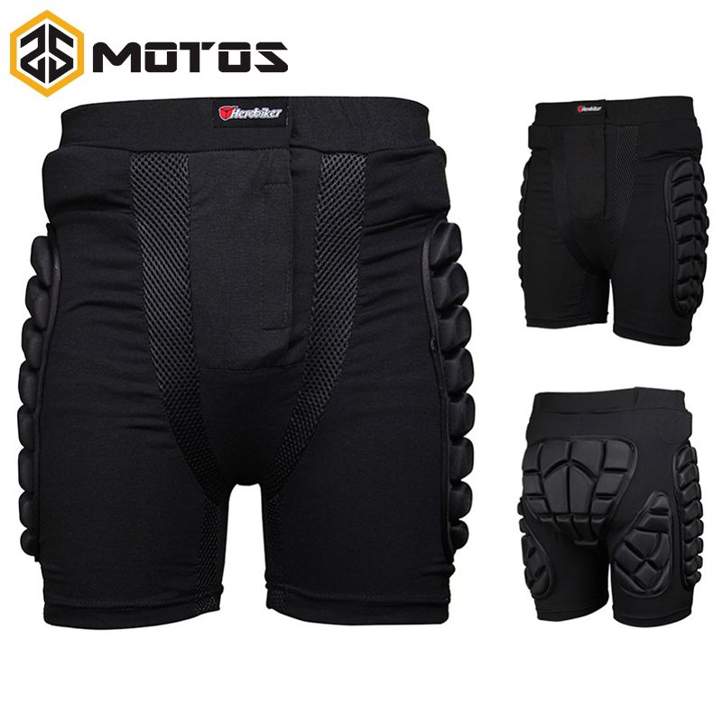 ZS MOTOS HEROBIKER Overland Motocross protector Motorcycle Armor Pants Leg Protection Riding Racing Gear Protective Hip Pad