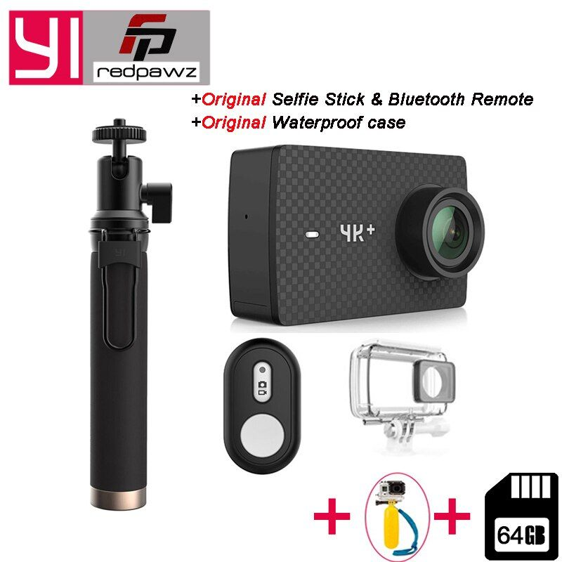International YI 4K Plus Action Camera 155 Degree 2.19