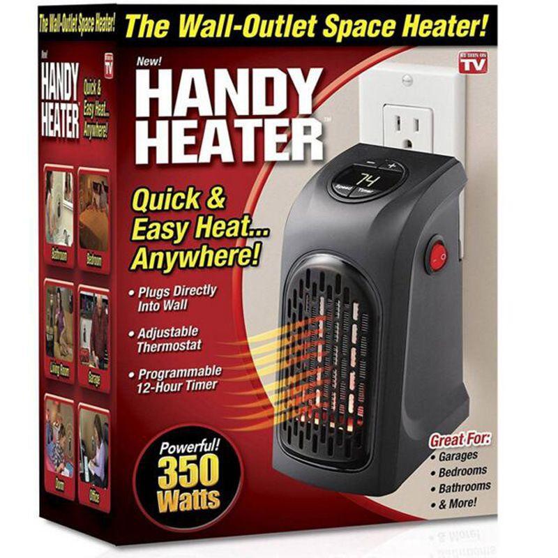 110 V/220 V Portable Mini Mur-Sortie Électrique Handy Réchauffeur D'air Chaud Ventilateur Chambre Ventilateur Poêle Chauffe-radiateur Chaud pour Home Office