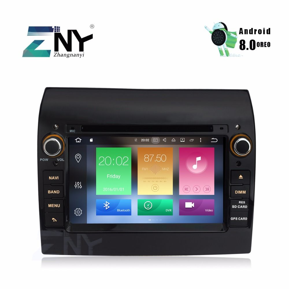 Android Car Stereo DVD Player 1 Din Autoradio For Ducato Jumper Boxer 7