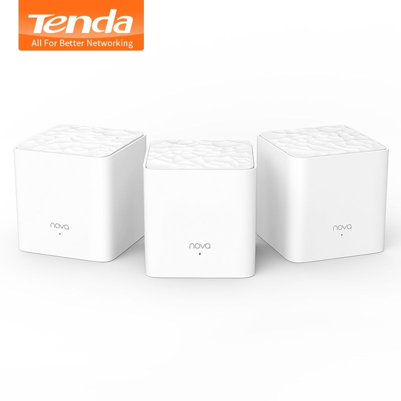 Tenda Nova Mw3 Drahtlose Wifi Router AC1200 Ganze Haus Dual Band 2,4 Ghz/5,0 Ghz Wifi Repeater Mesh WiFi System APP Remote Verwalten