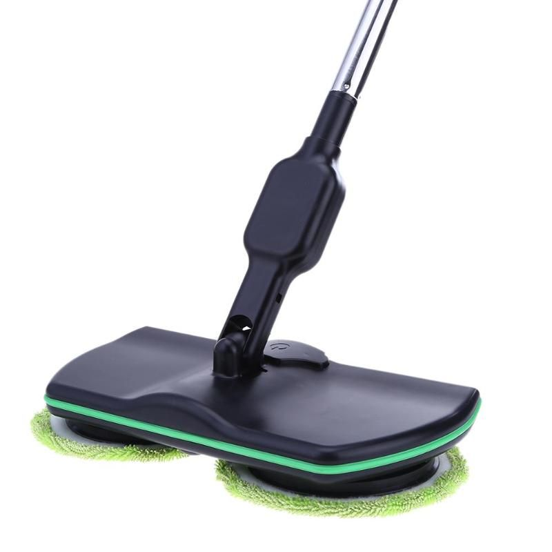 Electric Wireless Sweeper Manual Hand Push Sweeping Broom 360 Degree Rotation Flexible Cleaner Long Handle Supplies Hot