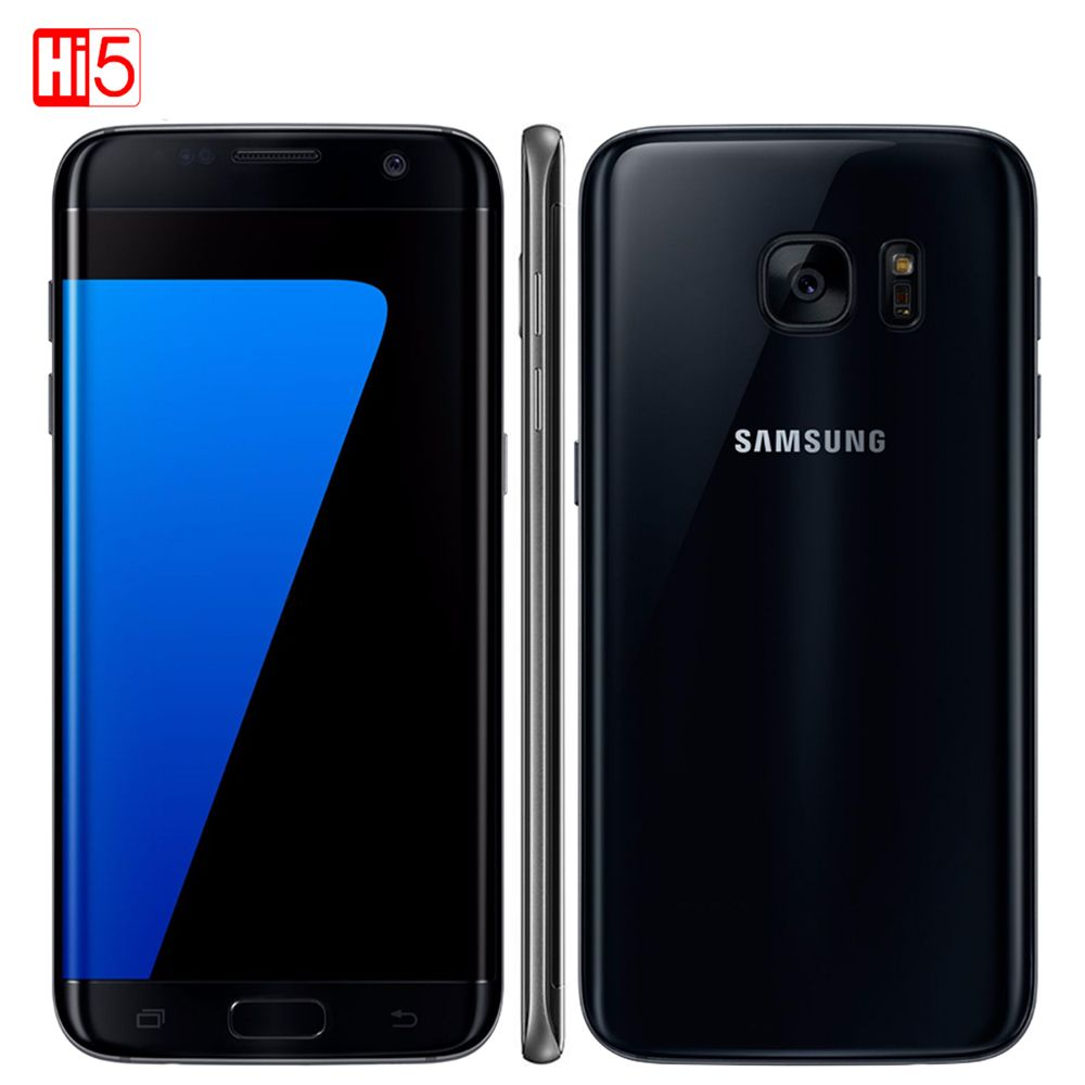 Unlocked Samsung Galaxy S7 mobile phone 5.1 display 32GB ROM Quad Core NFC WIFI GPS 12MP 4G LTE fingerprint