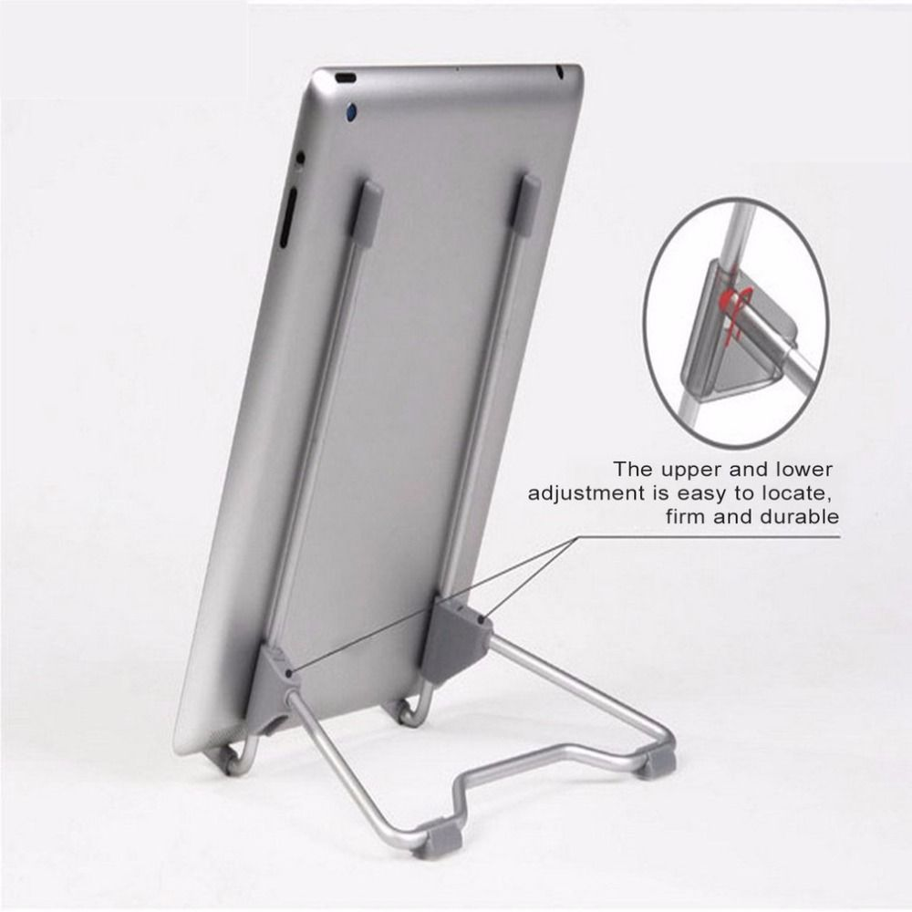Multifunktionale Faltung Tragbare Tablet PC Laptop Ständer Halter für Desktop-Computer Halterung für iPad Aluminiumlegierung