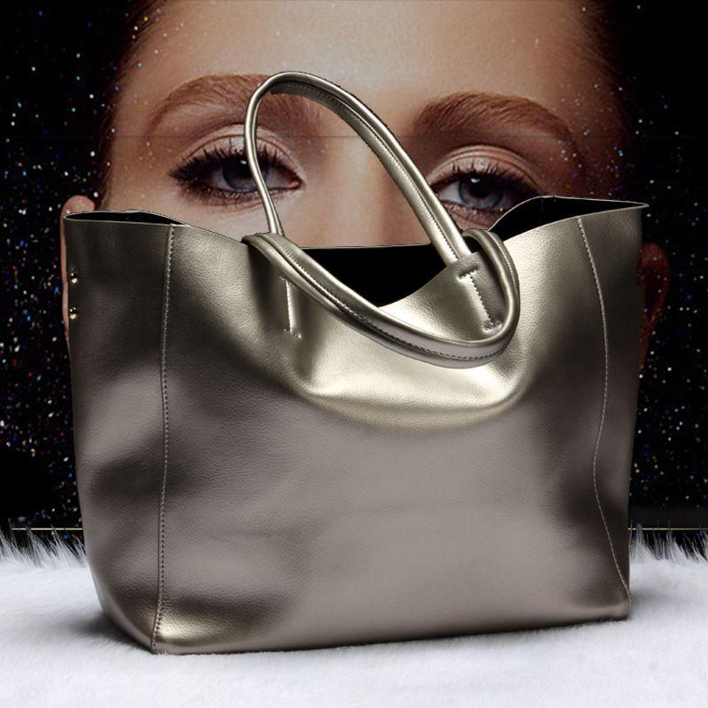 Top selling Women Handbag Genuine Leather Bucket Casual Bag Ladies Luxury Shoulder Bags Female Eight Candy Colors Messenger Bag
