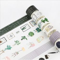 15-30mmX7m Nordic series label decorative washi tape Diary Scrapbook paper tapes kawaii Girl diy School Office  stationery