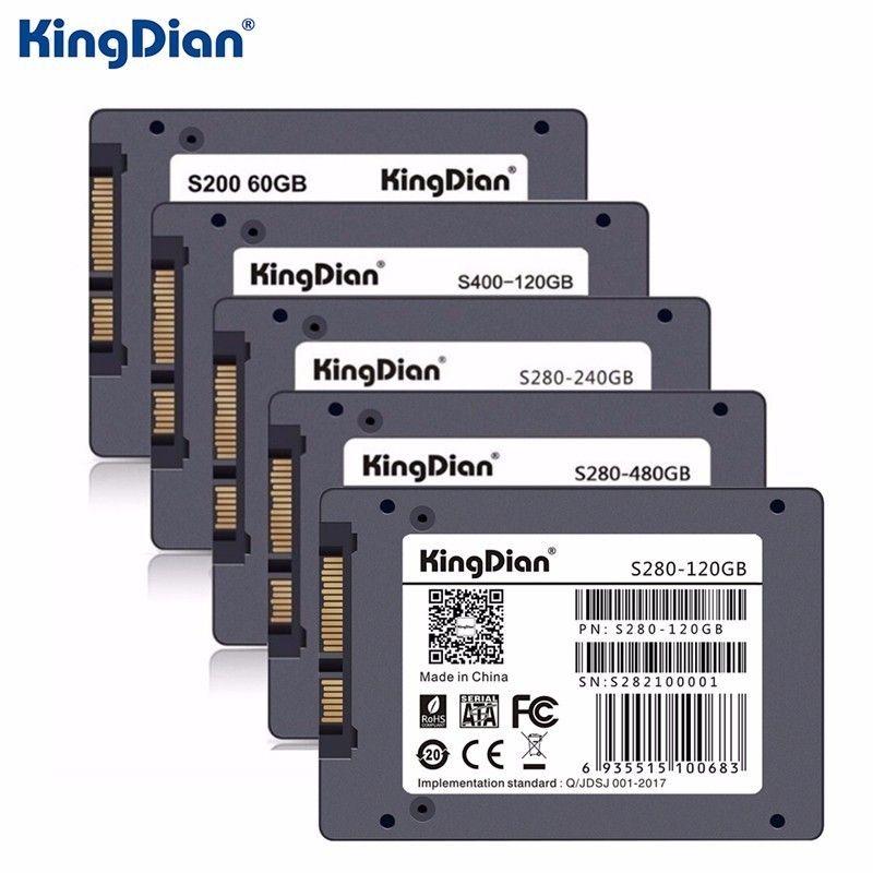 Original KingDian SSD Festplatte Festplatte SATA3 SSD 2,5 zoll 60 GB 120G 240 GB 480G Festplatte HD HDD fabrik direkt KingDian