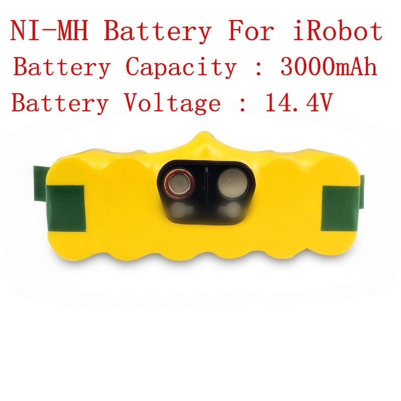 14.4V 3000mAh Ni-MH Battery Packs for iRobot Roomba 620 610 630 650 660 vacuum cleaner parts