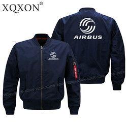 Pria percontohan jaket airbus XQXON-2018 baru Desain kualitas Tinggi man Coats Jaket (Customizable) Musim Semi jatuh musim dingin pakaian J69