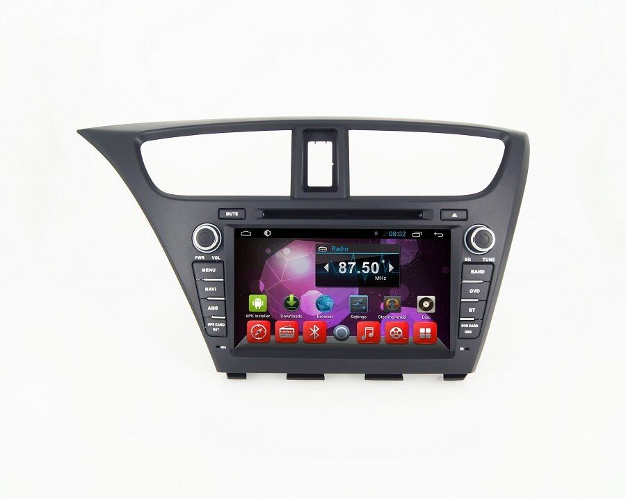 Navirider auto dvd player für Honda Civic 2014 octa core android 8.1.0 auto gps multimedia head unit stereo tape recorder