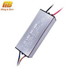 Светодиодный драйвер 10 Вт 20 Вт 30 Вт 50 Вт 70 Вт преобразования AC85-265V для DC22-38V без мерцающие, светодиодные драйвера