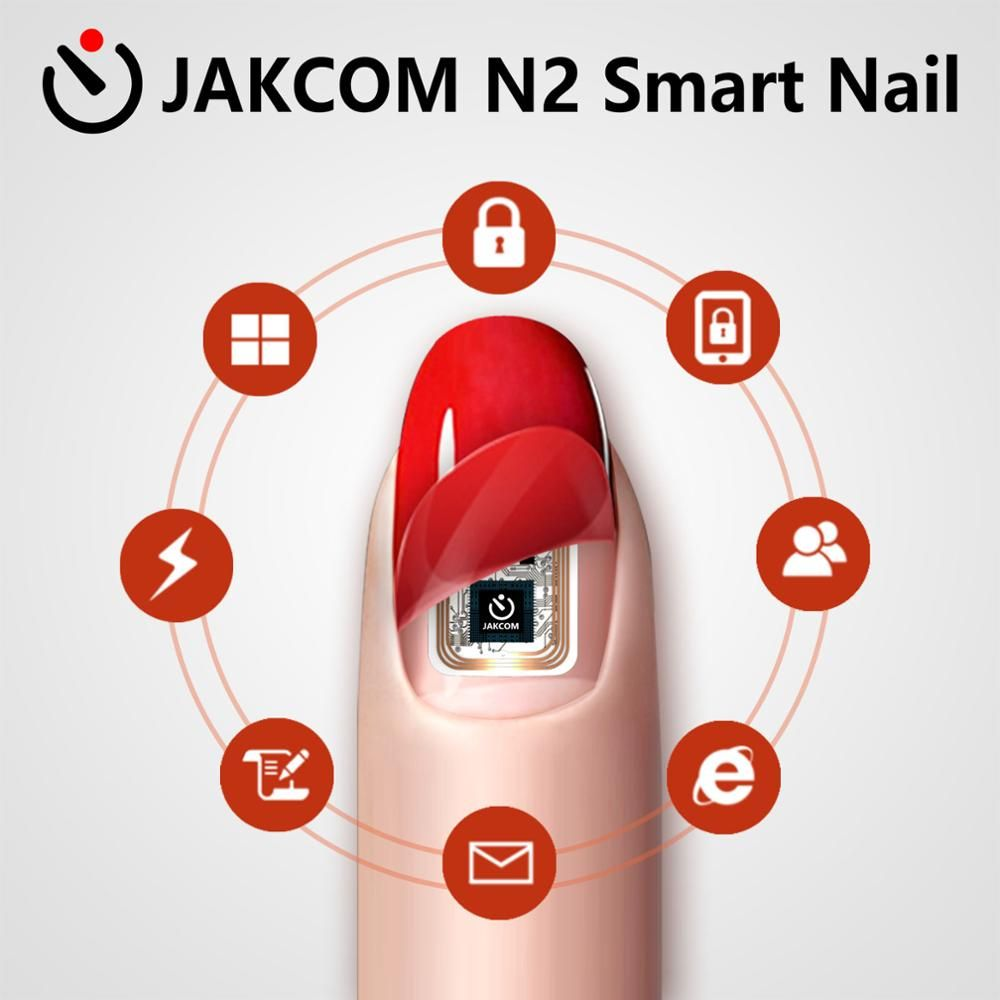 JAKCOM N2 Smart Nail Simulat IC card Connect Phone Flash LED Smart Manicure New NFC Smart Wearable gadget N2M N2F N2L 3types