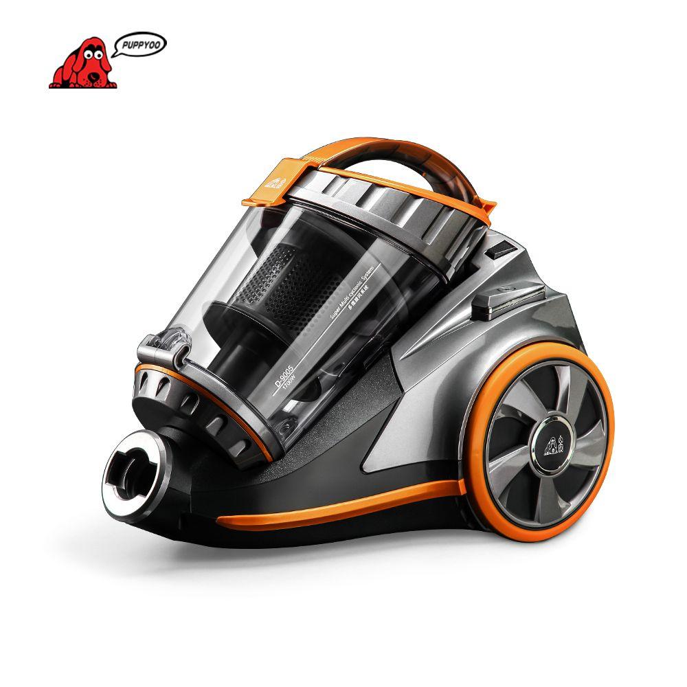 PUPPYOO 270 degrés brosse rotative aspirateur domestique aspirateur puissant bidon multifonctionnel appareils de nettoyage D-9005