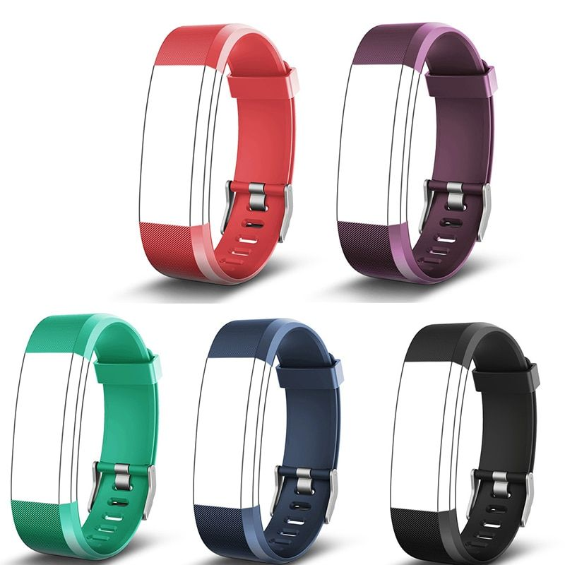 Hembeer ID115HR PLUS Smart Bracelet Smart Band Strap Replacement Watchbands Silicone BELT 5 Colors Accessories Smartband