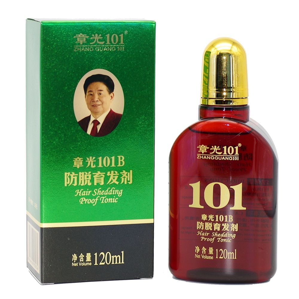 ZHANGGUANG 101B Hair Shedding Proof Tonic powerful anti-hair loss Chinese herbal medicine therapy Hair loss Treatment Essence