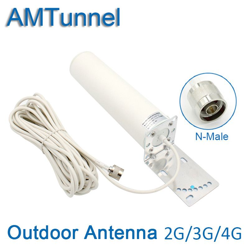 3g 4g external antenna GSM  LTE 1800Mhz  antenna 4g modern antenna with N connector 10 meters work for repeater booster