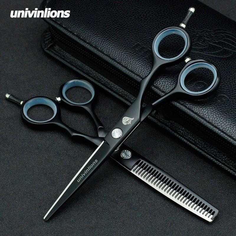 5.5/6.0 téflon cheveux ciseaux rasoir coiffure ciseaux vente professionnel coiffure ciseaux coiffeur clipper japon coupe de cheveux