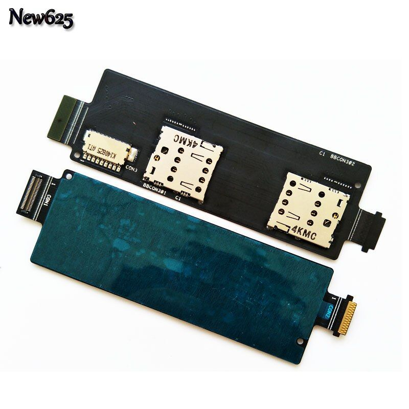 New Sim Cards Adapter For Asus Zenfone 5 Lite A502CG SIM Card Reader Socket Holder Connector Slot Flex Cable Ribbon