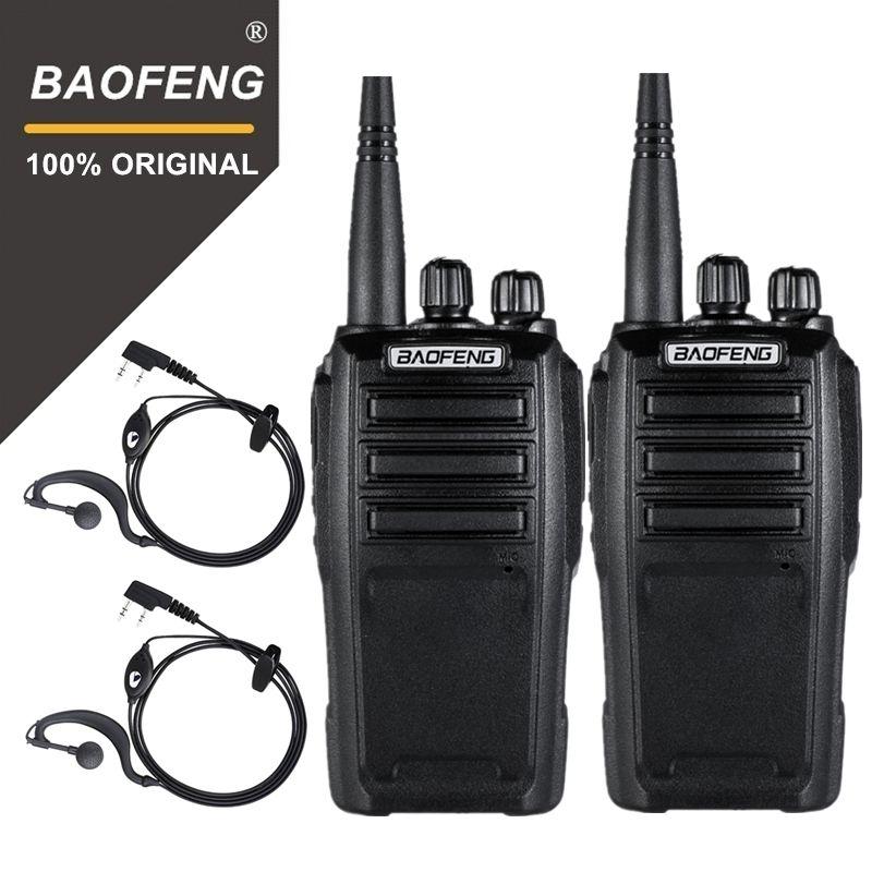 2PCS Baofeng UV-6 Security Guard Equipment Two Way Radio Encrypted Handheld Walkie Talkie Ham Radio HF Transceiver